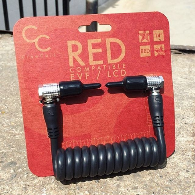 Stop by the @woodencamera booth at NAB for special pricing info on our RED EVF cables! #nab #nab2016 #nabshow #r3d