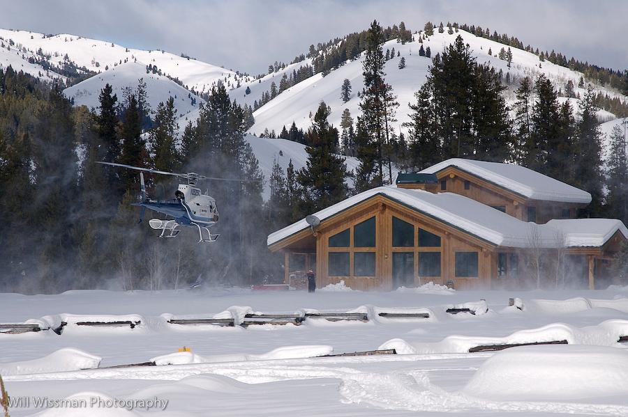 Idaho Smoky Mountain Lodge. Photo courtesy Will Wissman