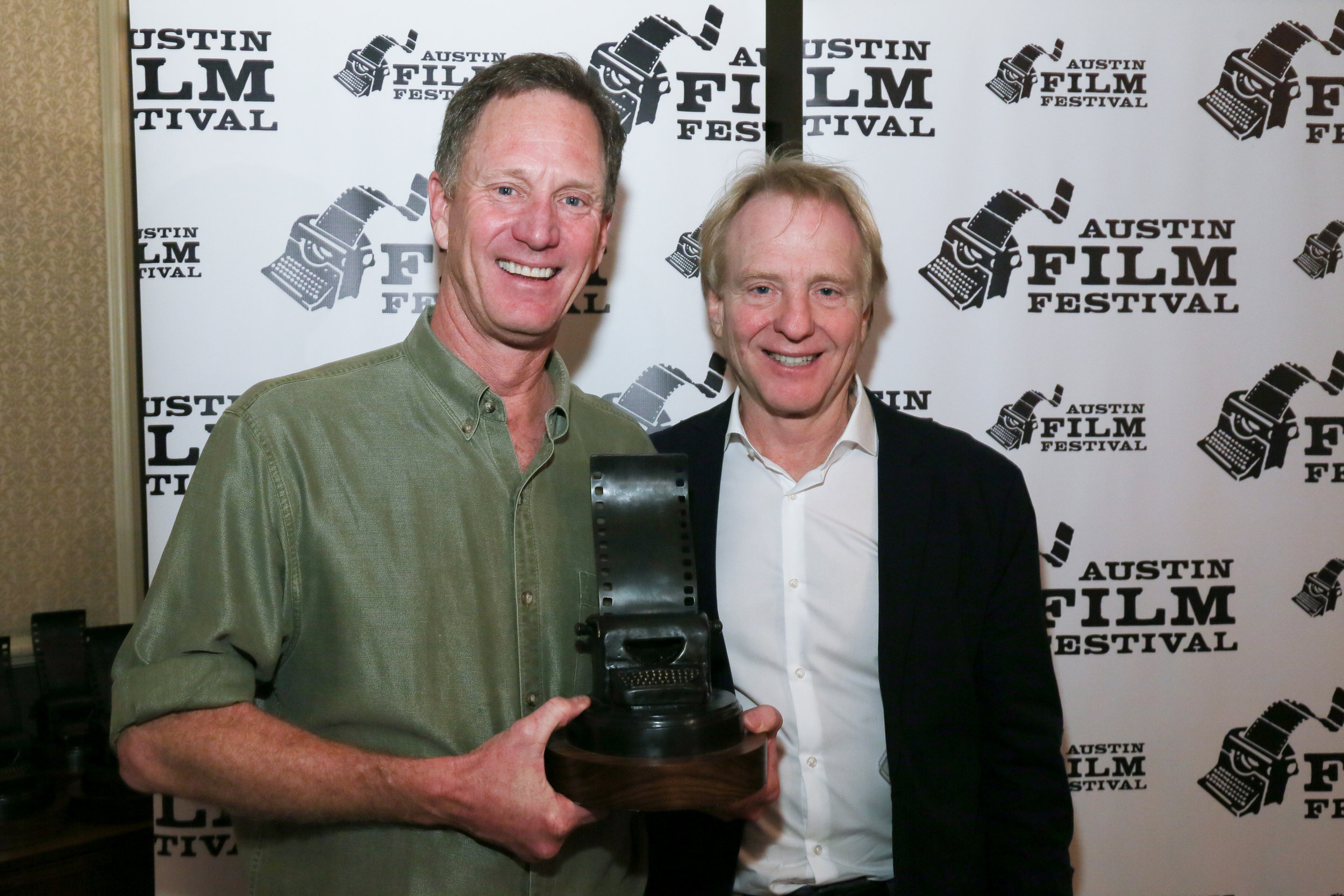John Stimpson and Geoff Taylor