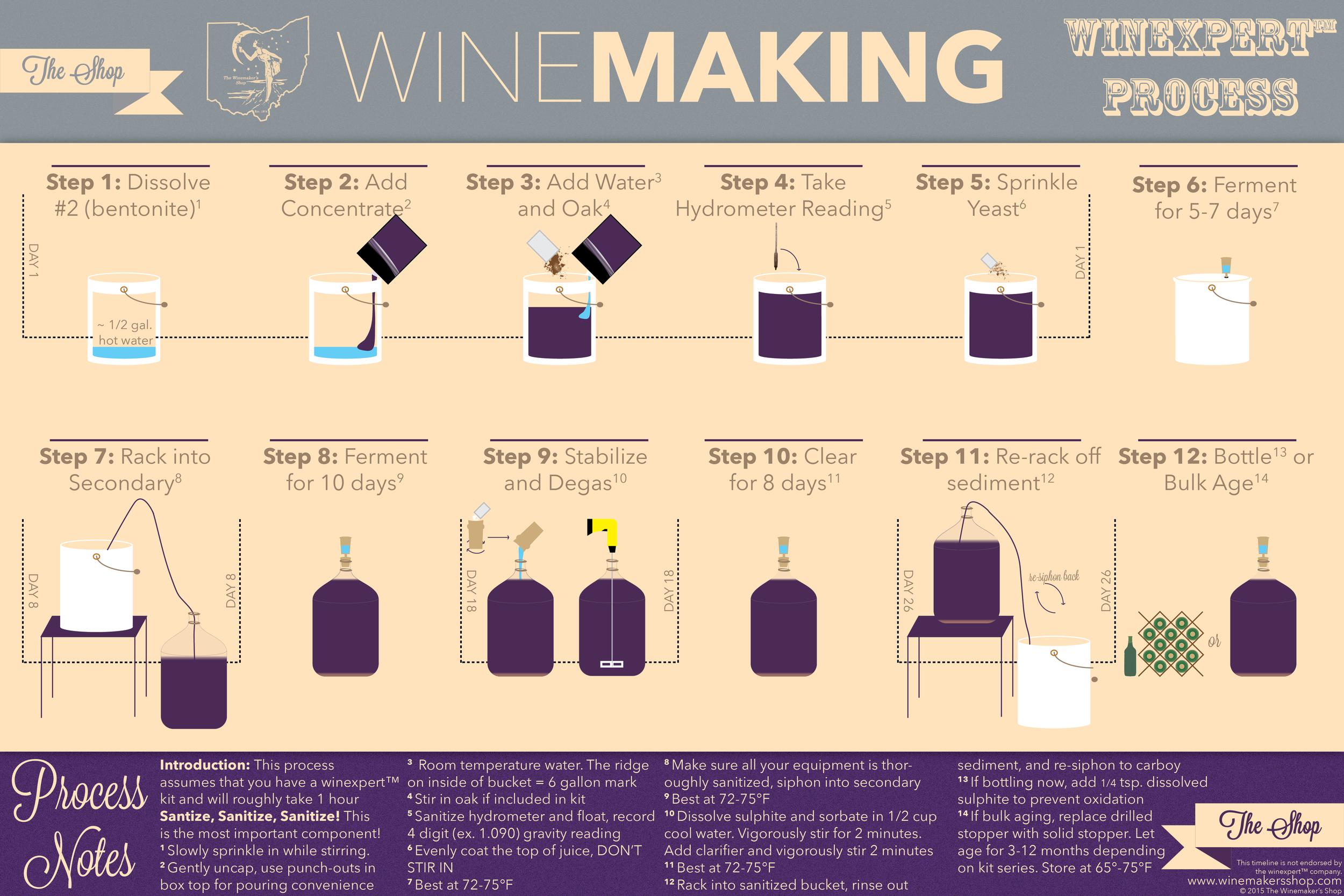 Winemaking-Timeline