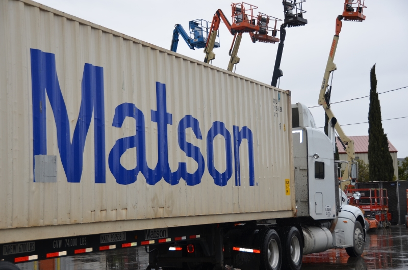 Matson, Inc. and Kyowa Shipping Co., Ltd. are shipping our 40-ft. container to Majuro at this moment.