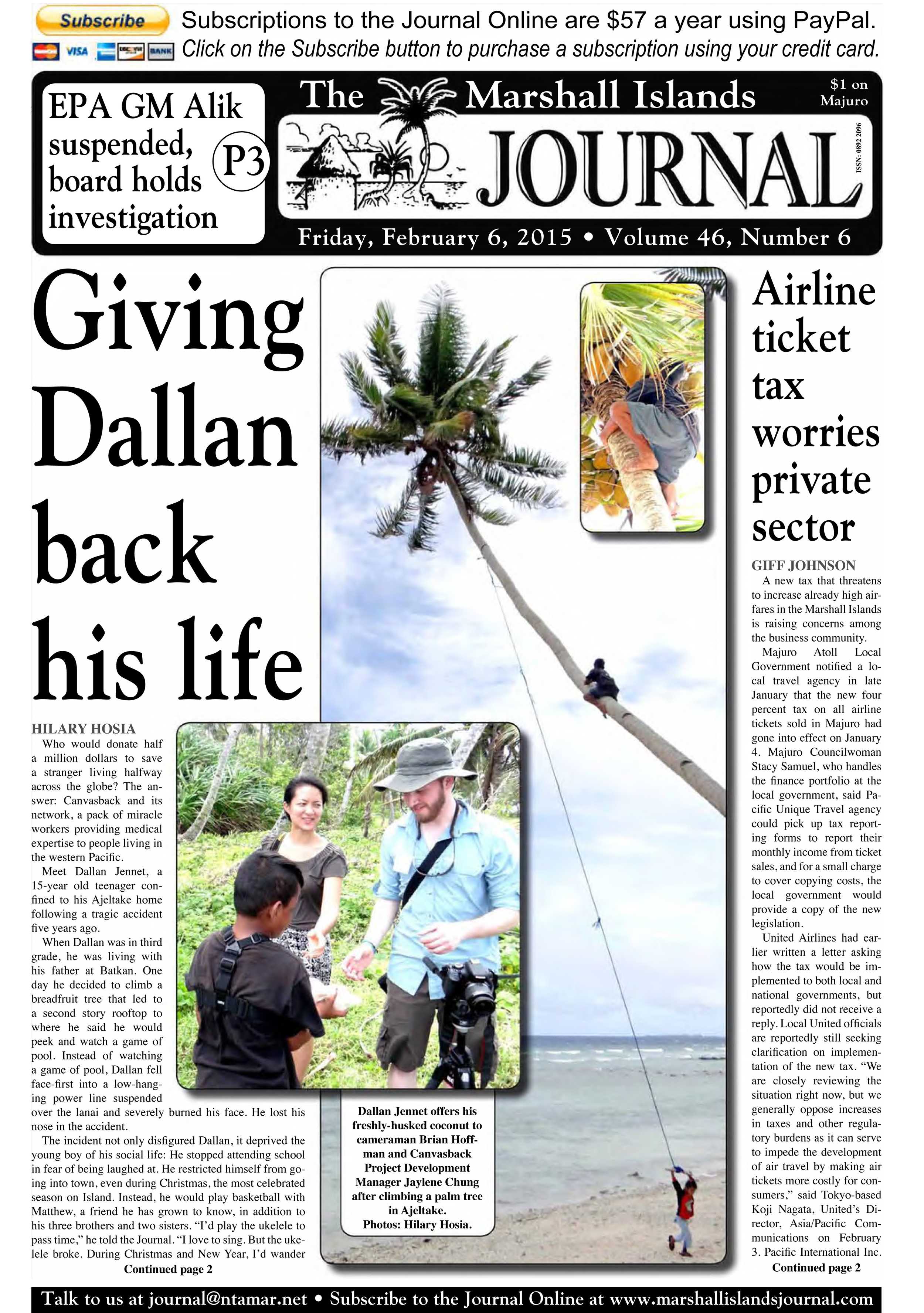 Download and read an article from the Marshall islands journal