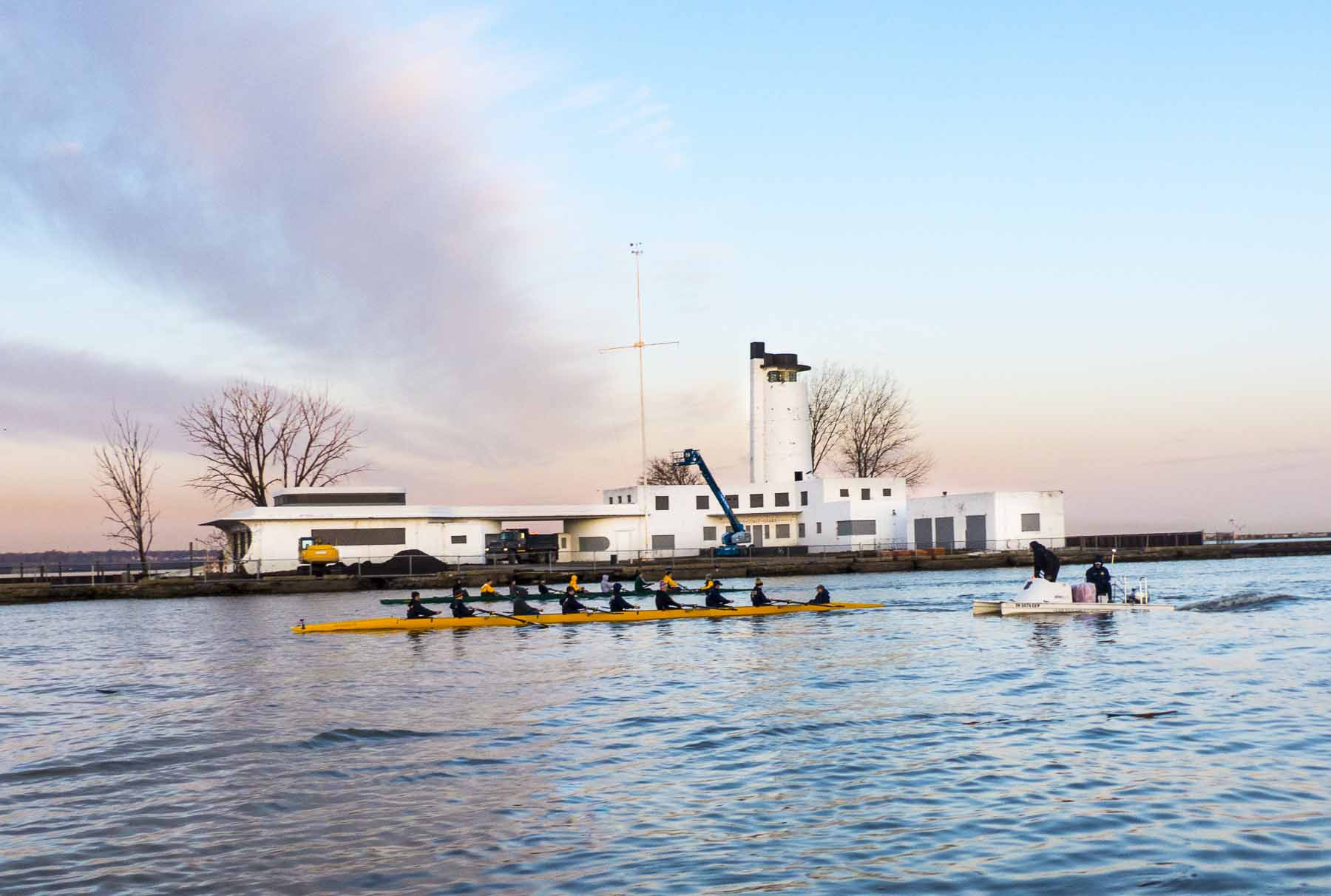 Cleveland Metroparks has begun restoring the Coast Guard Station on Whiskey Island