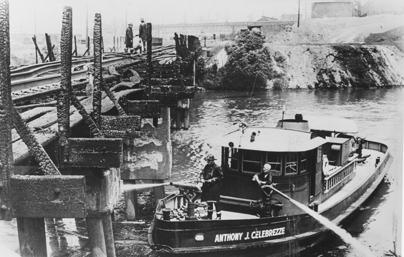 1969 Cuyahoga River Fire