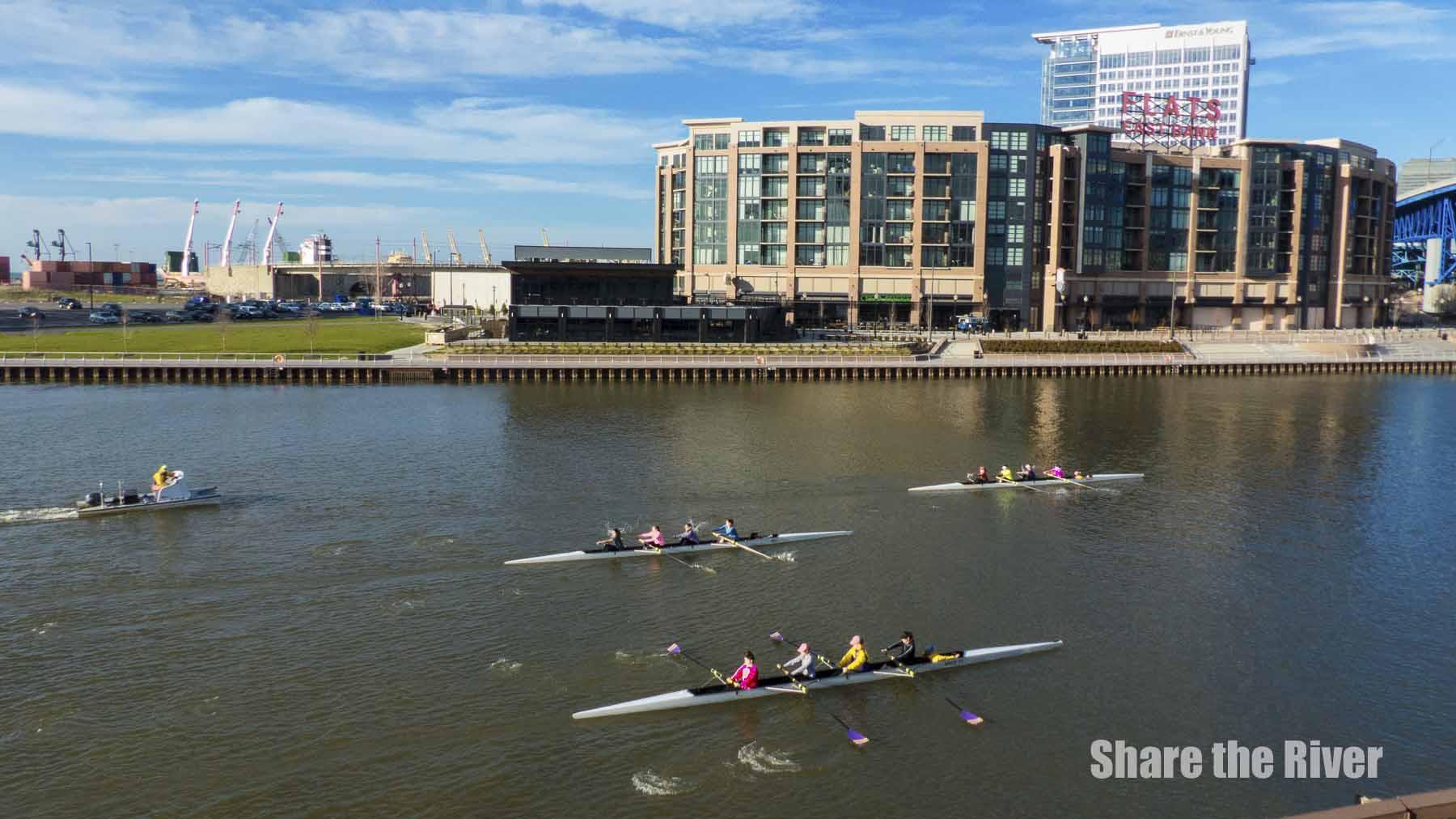 Cuyahoga River - April 2016