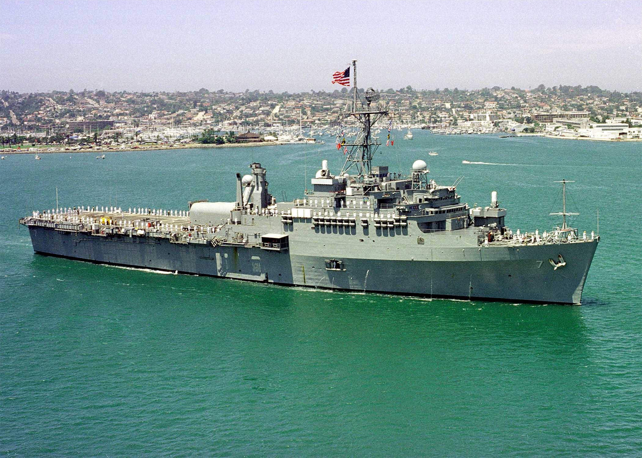 USS cleveland, lpd 7