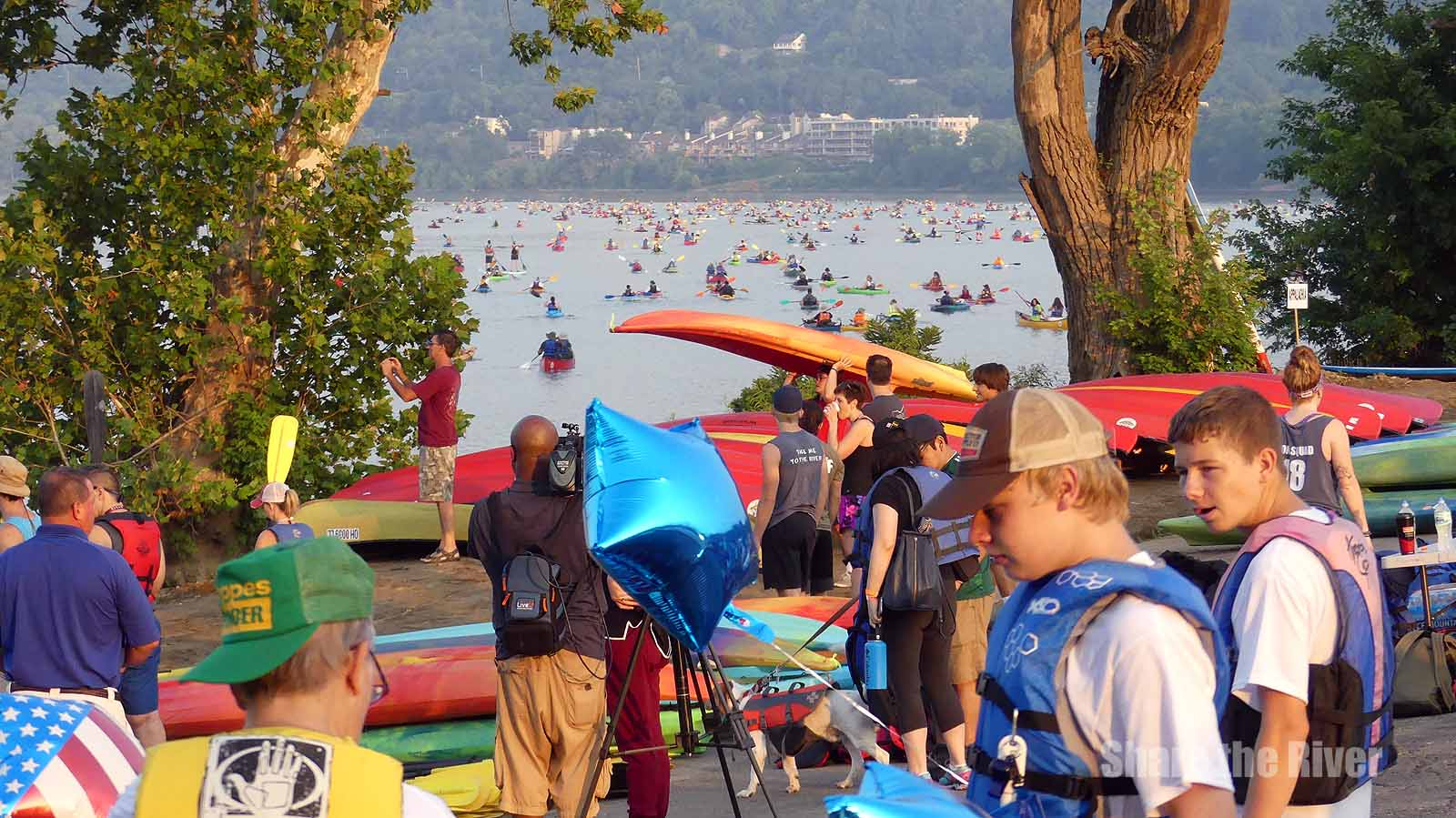 Our Model for Blazing Paddles? - The Epic Ohio River Paddlefest