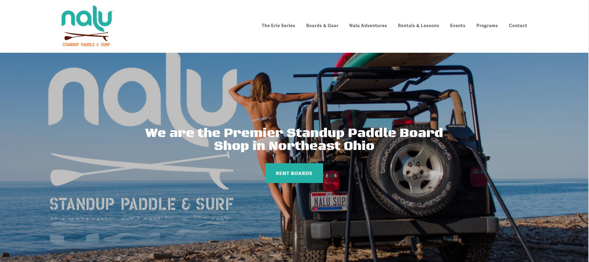NALU STANDUP PADDLE & SURF