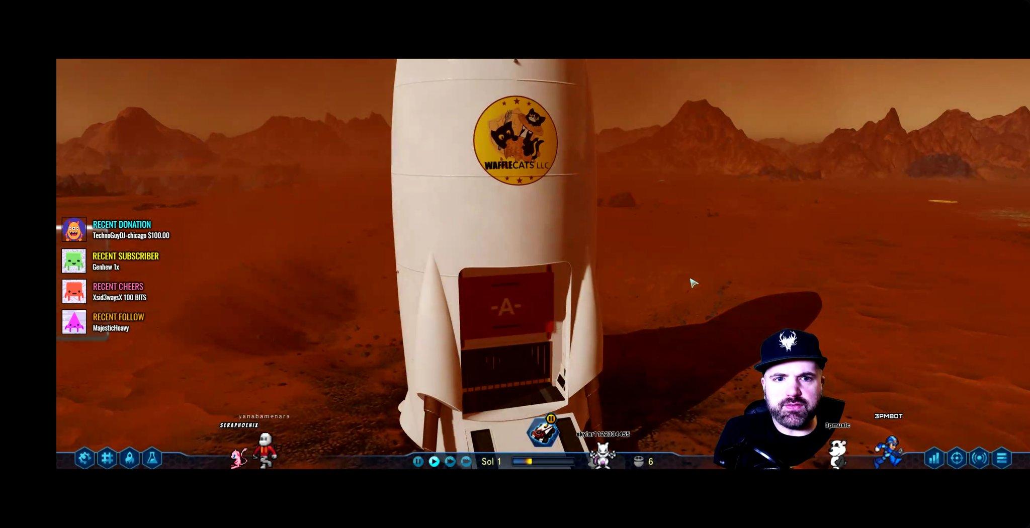 SURVIVING MARS! - RELEASE DATE 3/15.