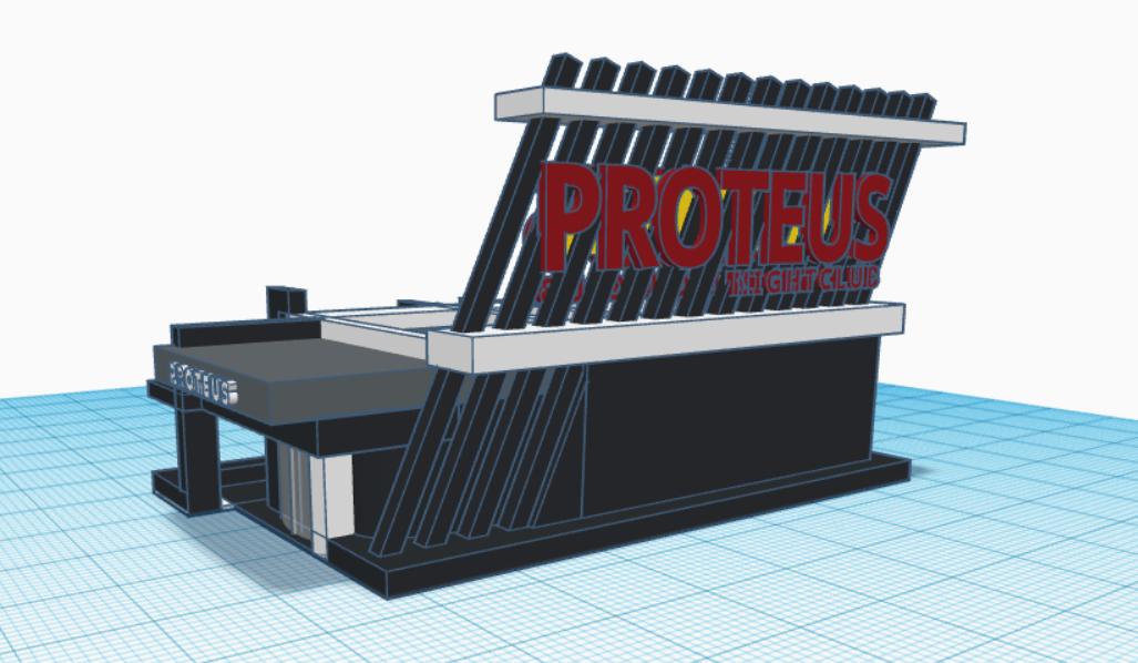 PROTEUS NIGHTCLUB - - DOME BUILDING for LUXURY + COMFORT &FUN!