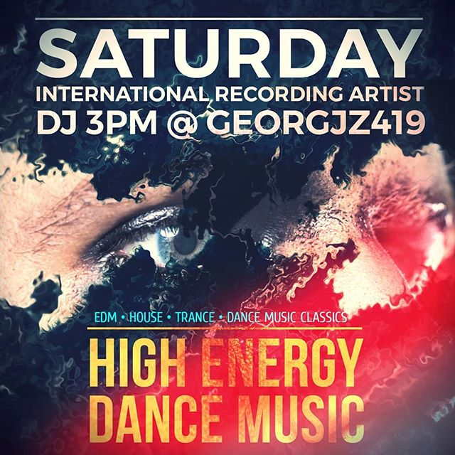 This Saturday!!! Come dance with me #Toledo  #EDM #Dance #Housemusic #Festival #HighEnergy #DanceMusic #Georgjz419