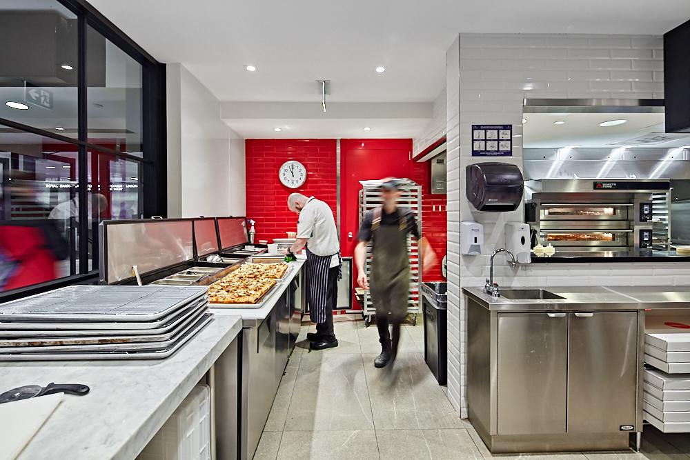 Fabrica Restaurant TD Centre   - H H Angus