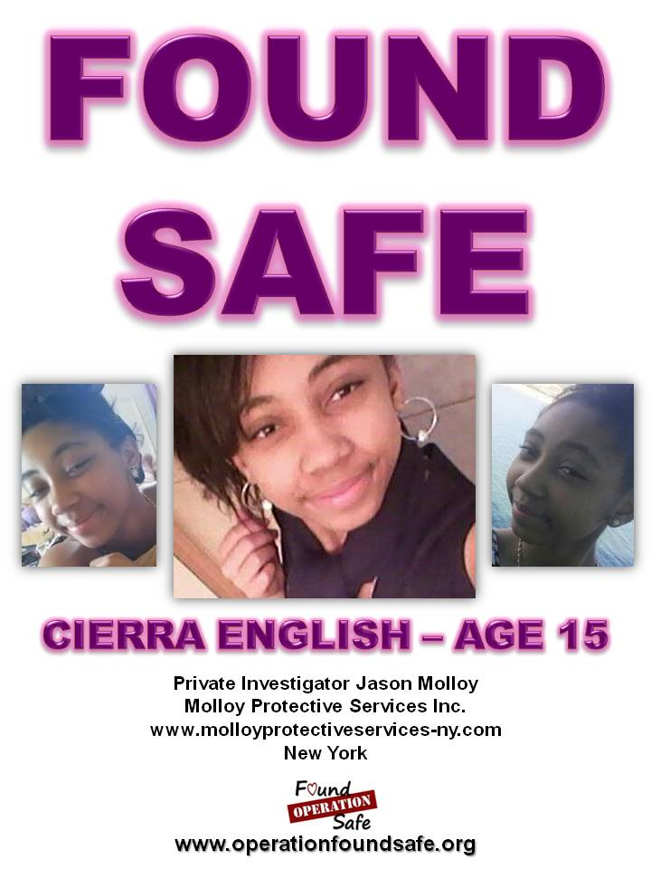 Cierra English - FOUND SAFE - age 15 - missing since 03-22-14 from Brentwood, NY.jpg