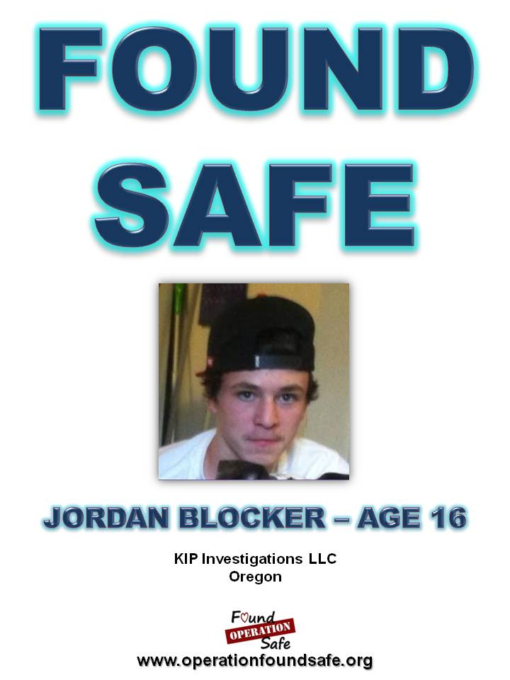 Jordan Blocker - age 16 - FOUND SAFE - from Albany OR.jpg