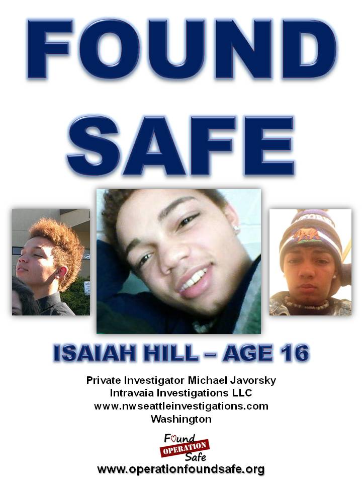 Isiaih Hill - FOUND SAFE - age 16 - missing since 05-19-14 from Marysville, WA.jpg