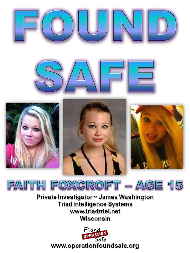 Faith Foxcroft - FOUND SAFE - age 15 - missing since 09-17-14 from Oshkosh, WI.jpg
