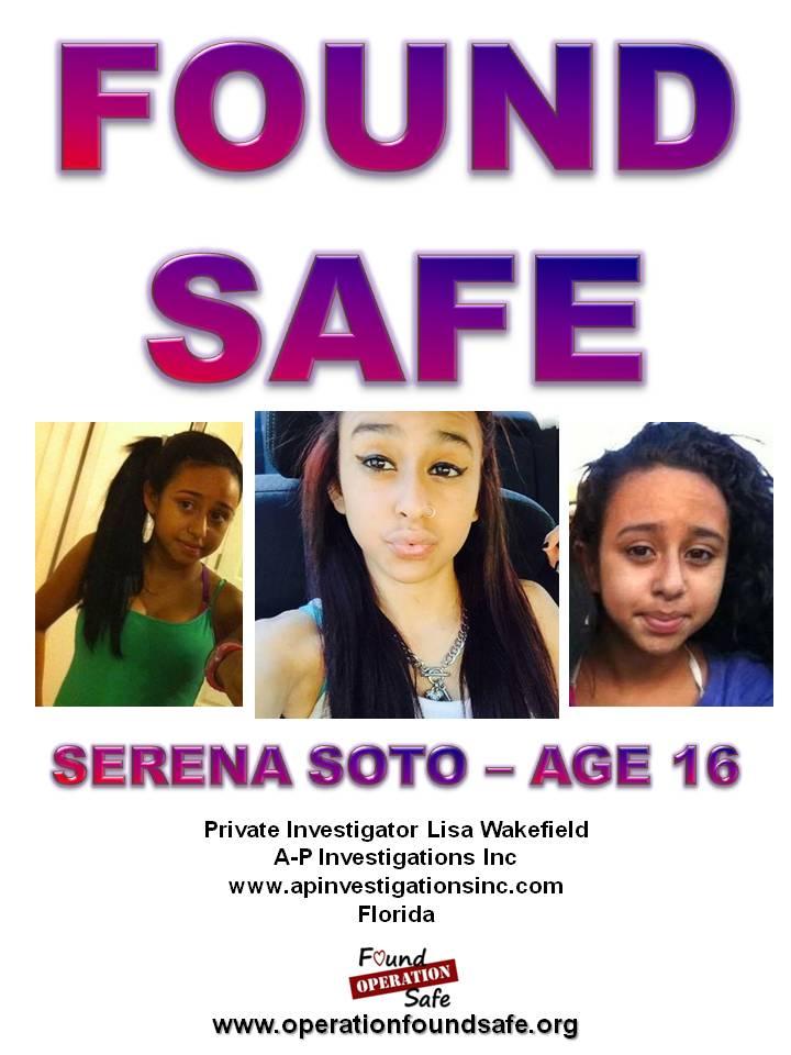 Serena Soto - FOUND SAFE - age 16 - missing 05-10-15 - from Brooksville, FL.jpg