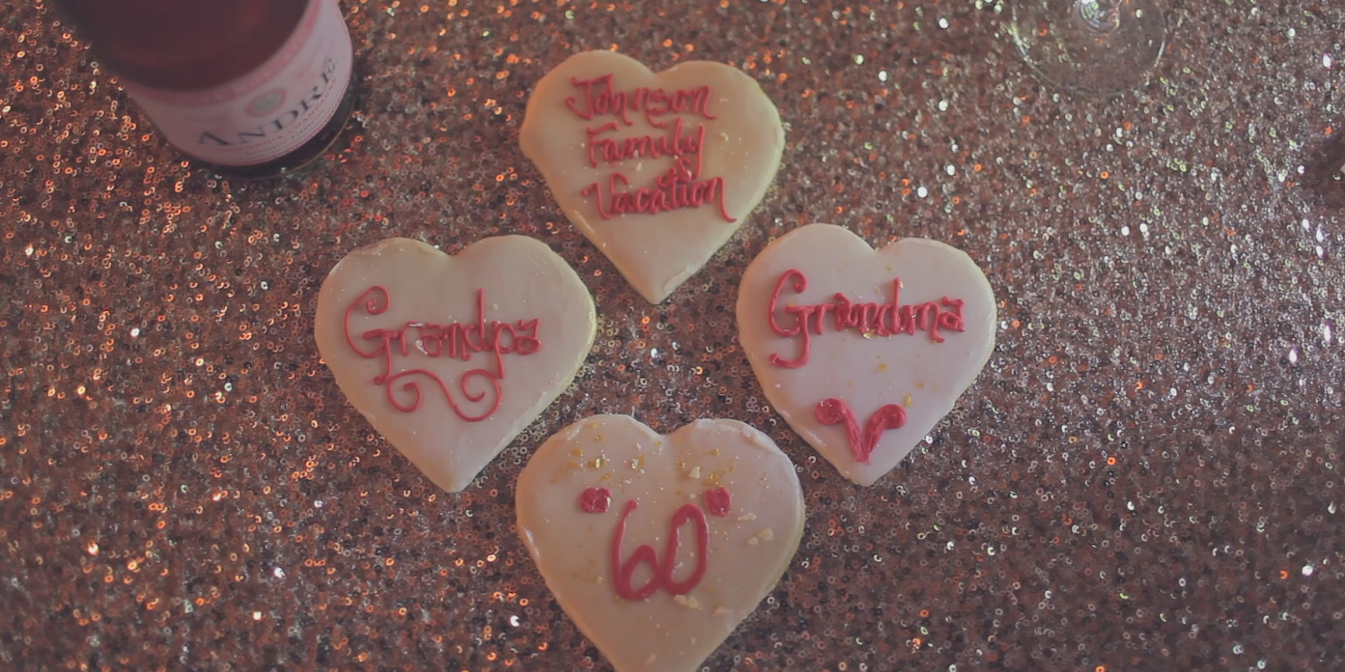 wedding anniversary cookies