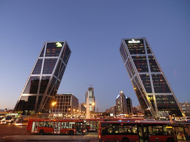 Leaning Towers of Madrid