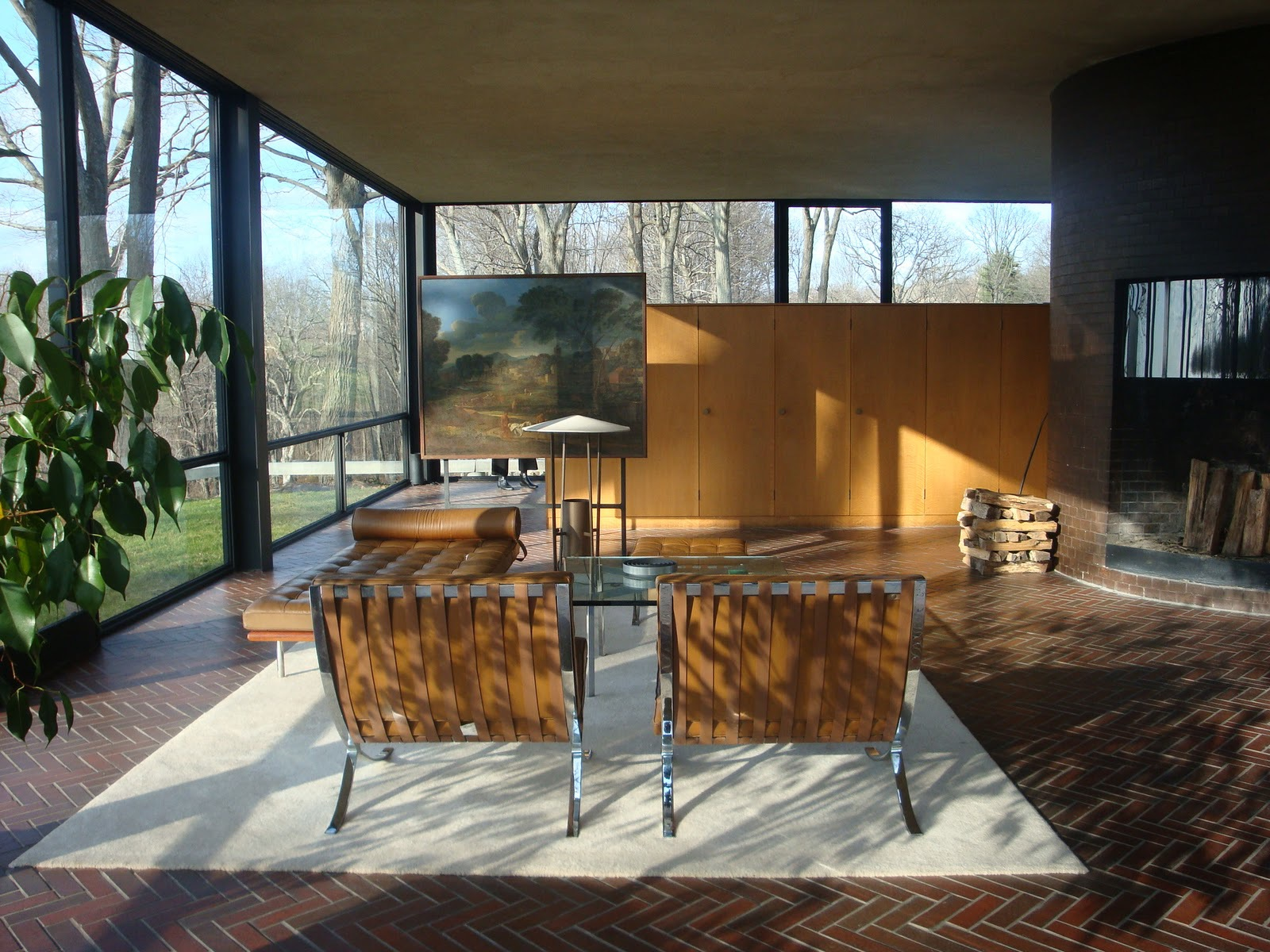 Glass House Interior