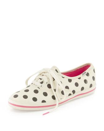 polka dot shoes fashion