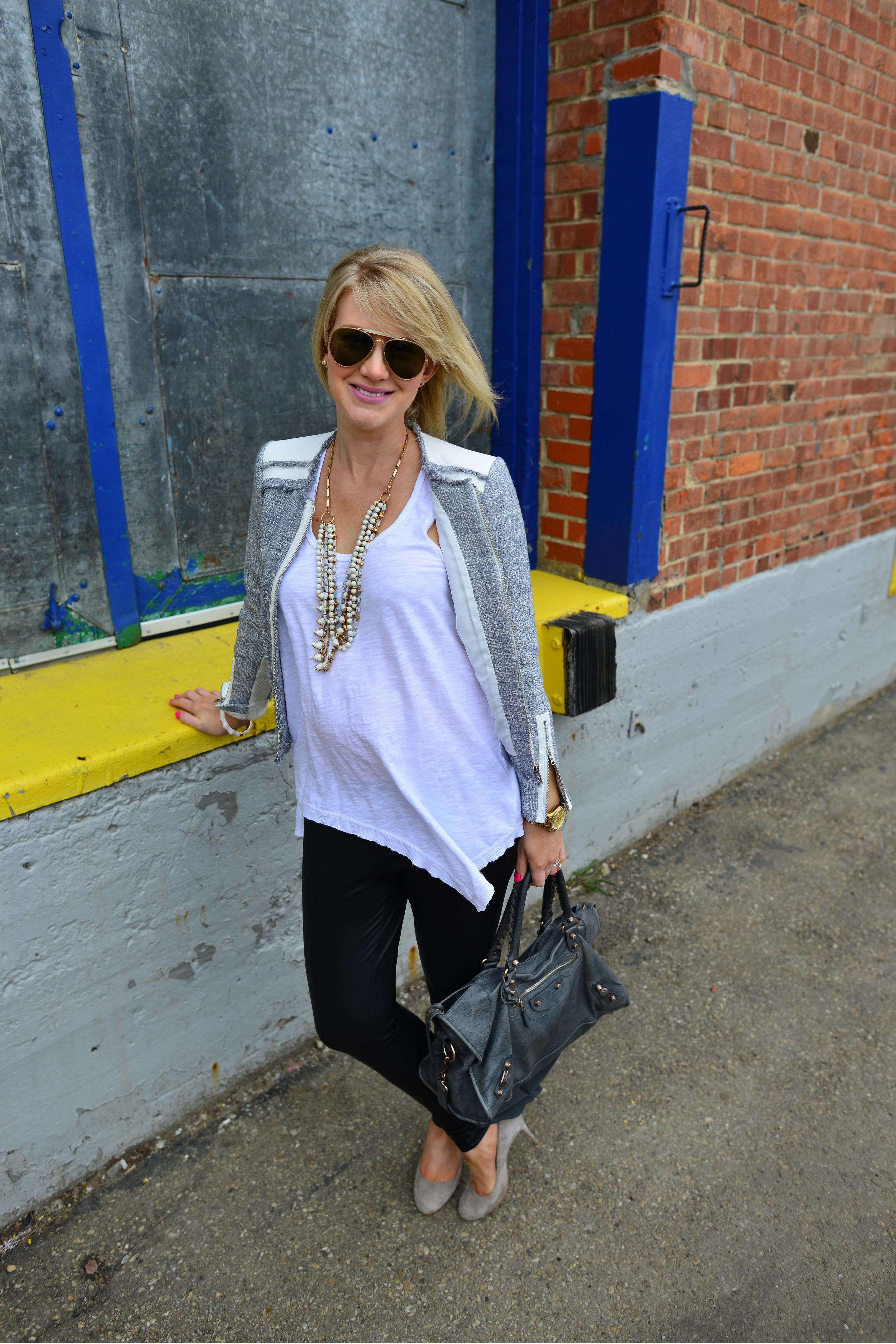 tweed jacket fashion