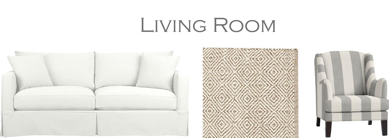 Coastal Living Room - 204 Park