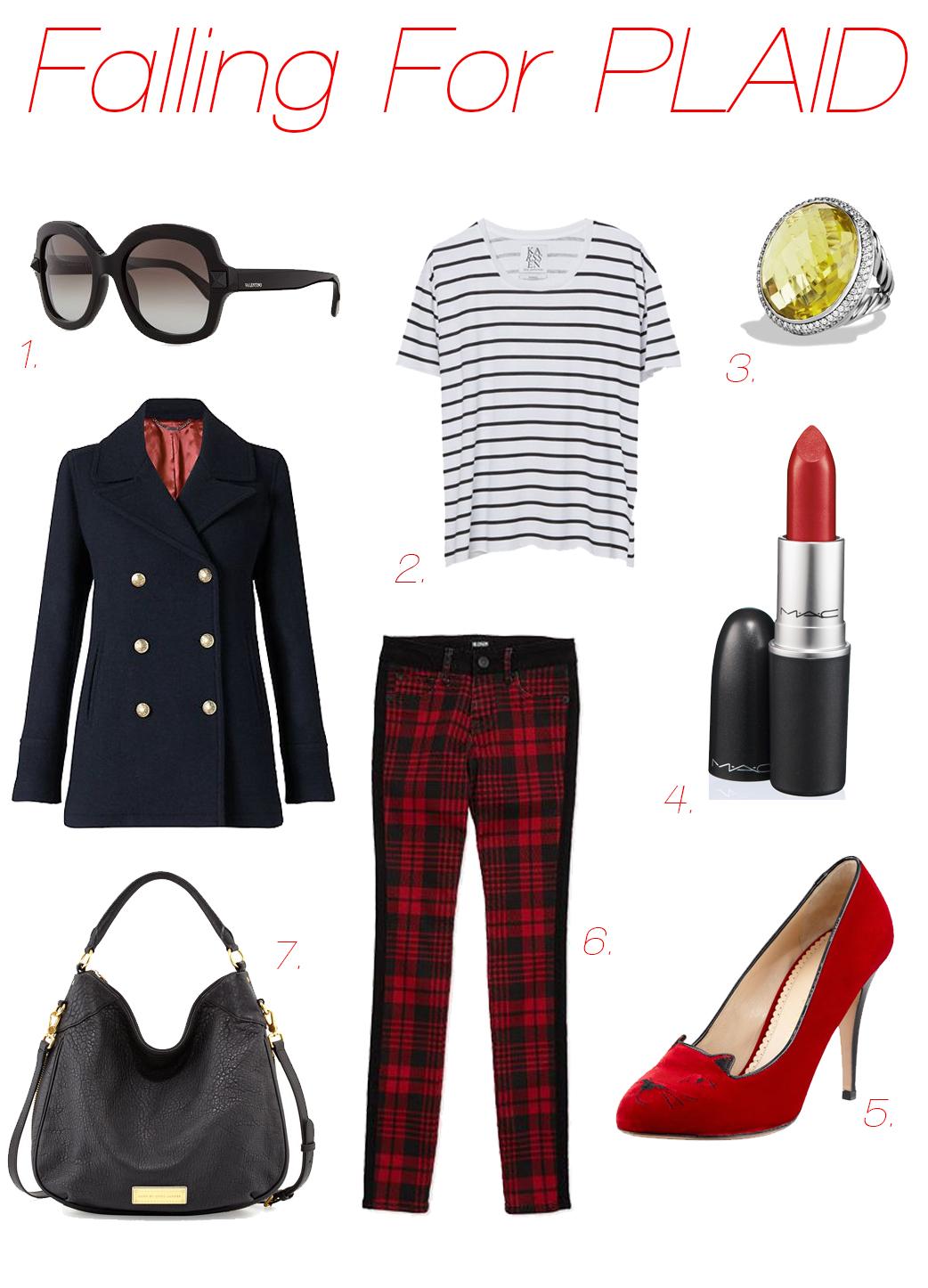 Plaid Pants Outfit - www.204park.com