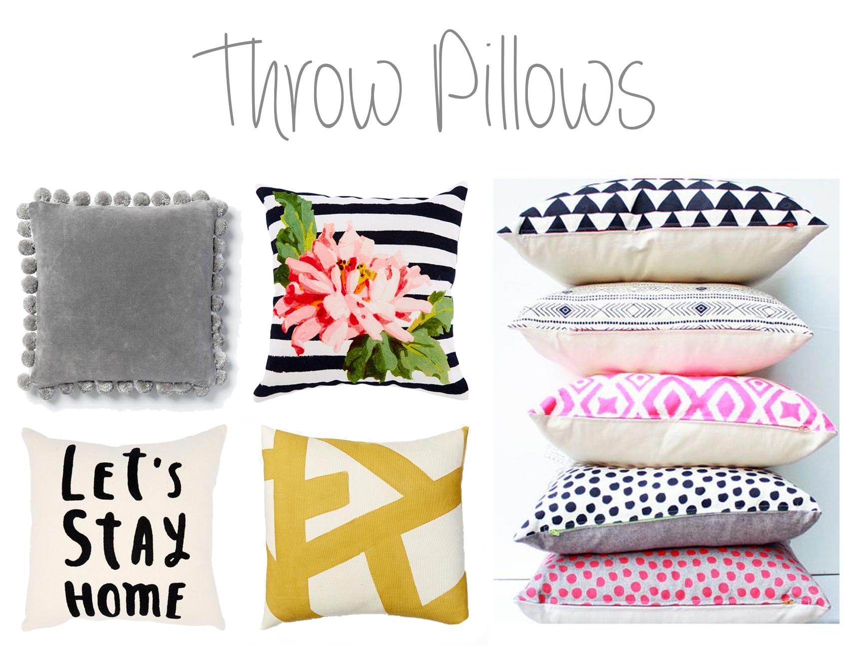 Throw Pillows - 204 Park