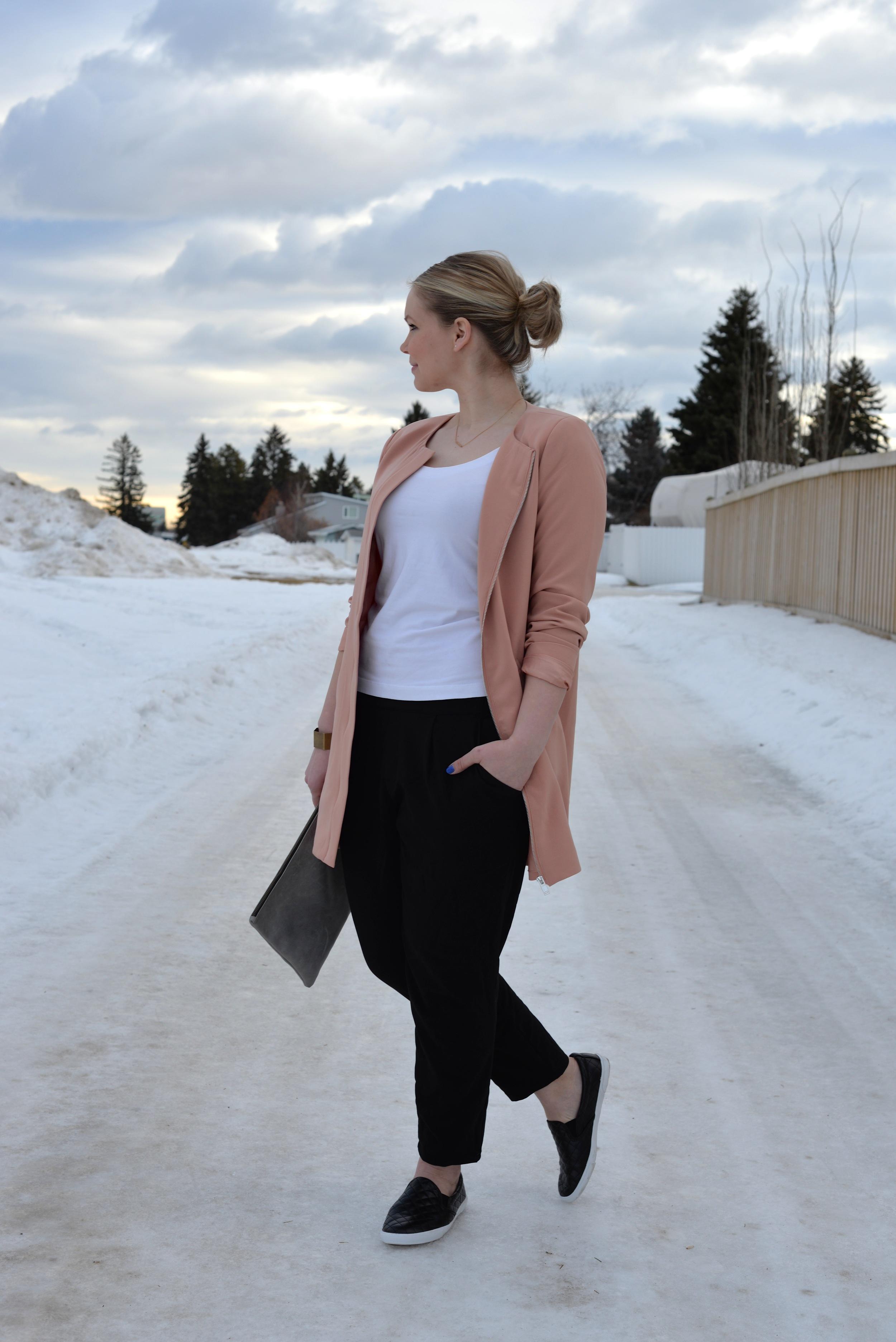 minimalist look