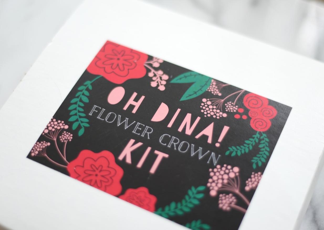 oh dina floral crown