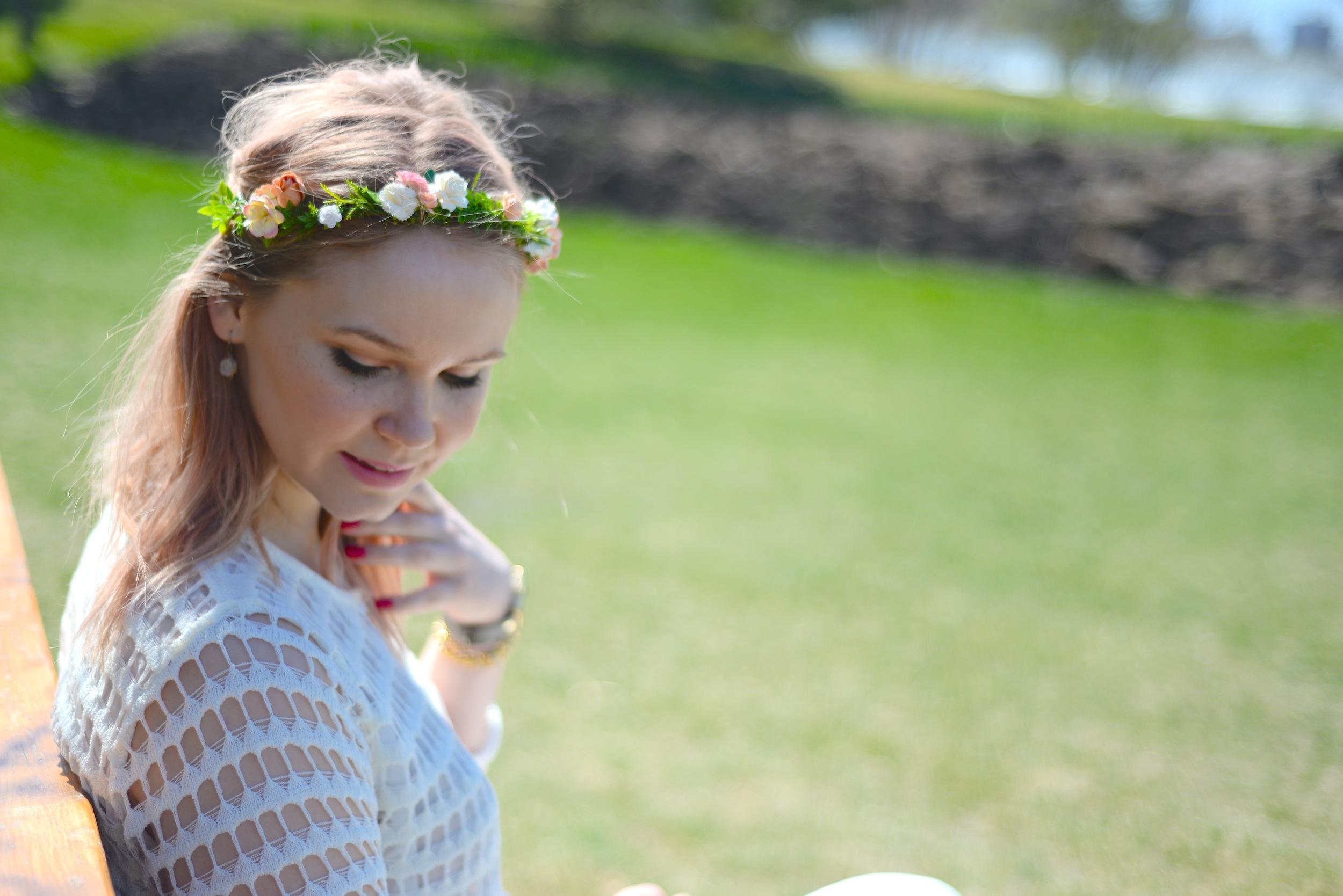 flower crown diy