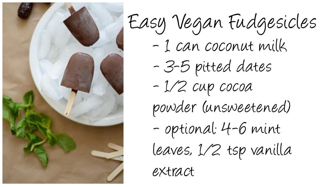 Vegan, vegan recipe, vegan fudgesicles, healthy, healthy recipe, vegan recipe, Edmonton food, Edmonton food blog, vegan dessert, healthy dessert, homemade fudgesicles, Canadian lifestyle blog, lifestyle blog