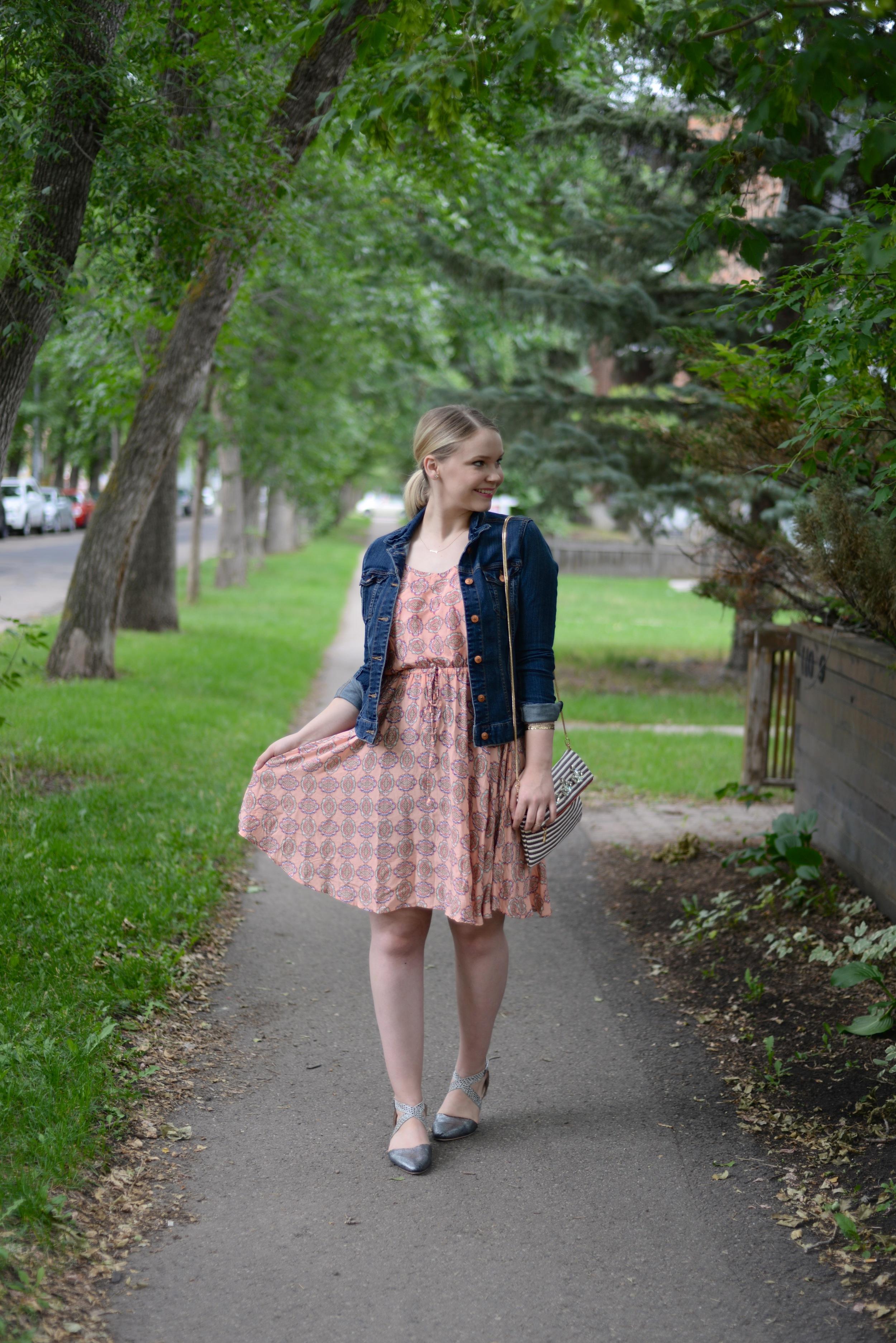 joe fresh summer pattern dress fashion
