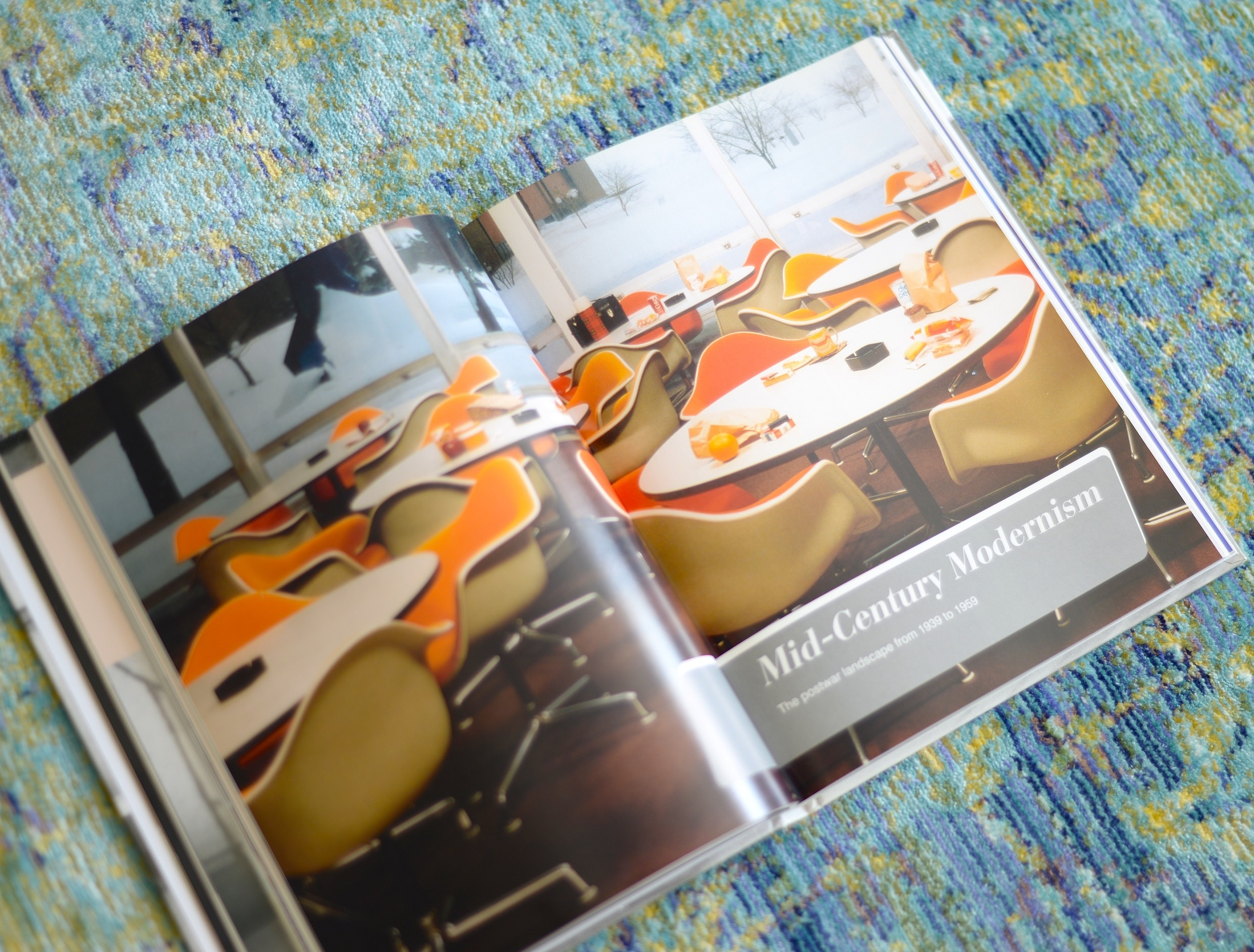 vintage furniture, mid century modern, interior design coffee table book