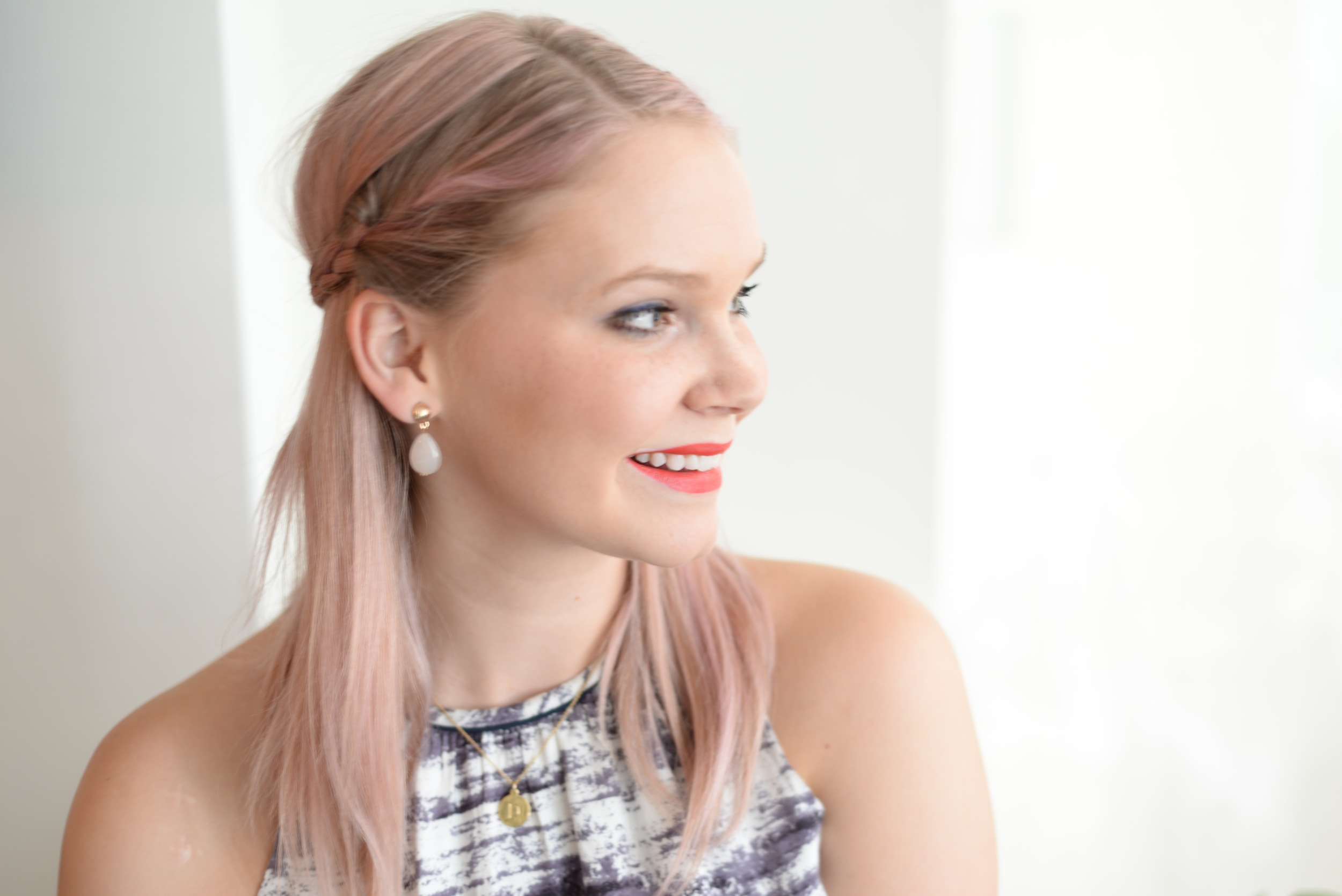pastel hair, beauty look, beauty blog