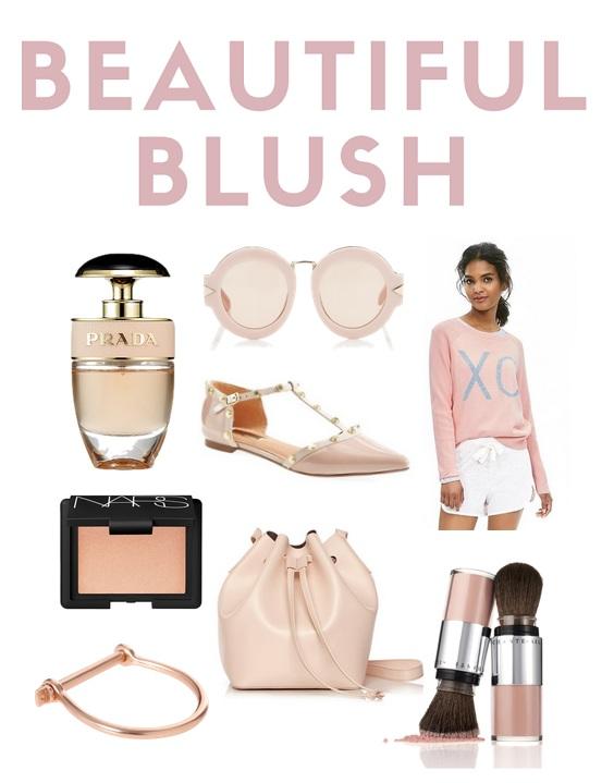 blush colored favorites