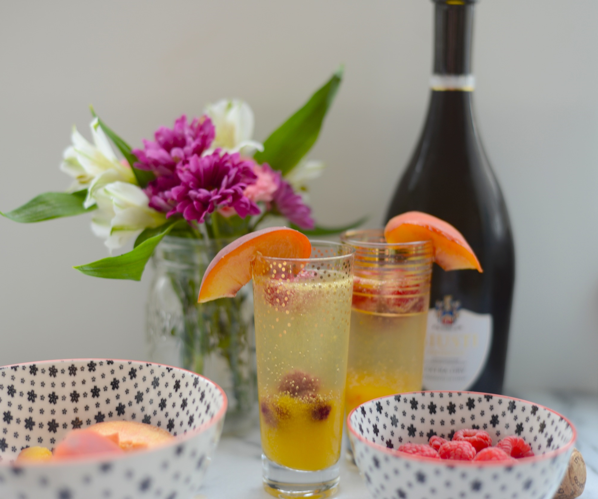 end of summer cocktail