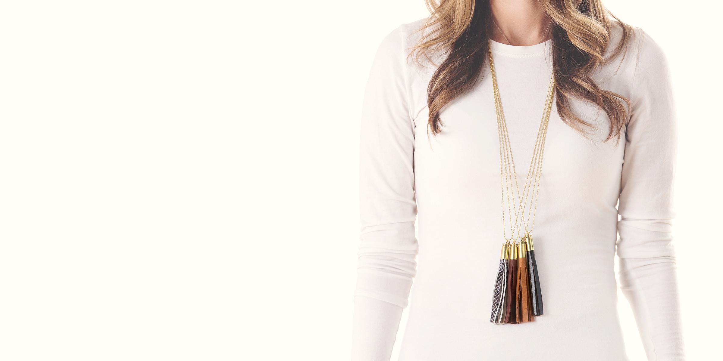 berg + betts tassel necklace
