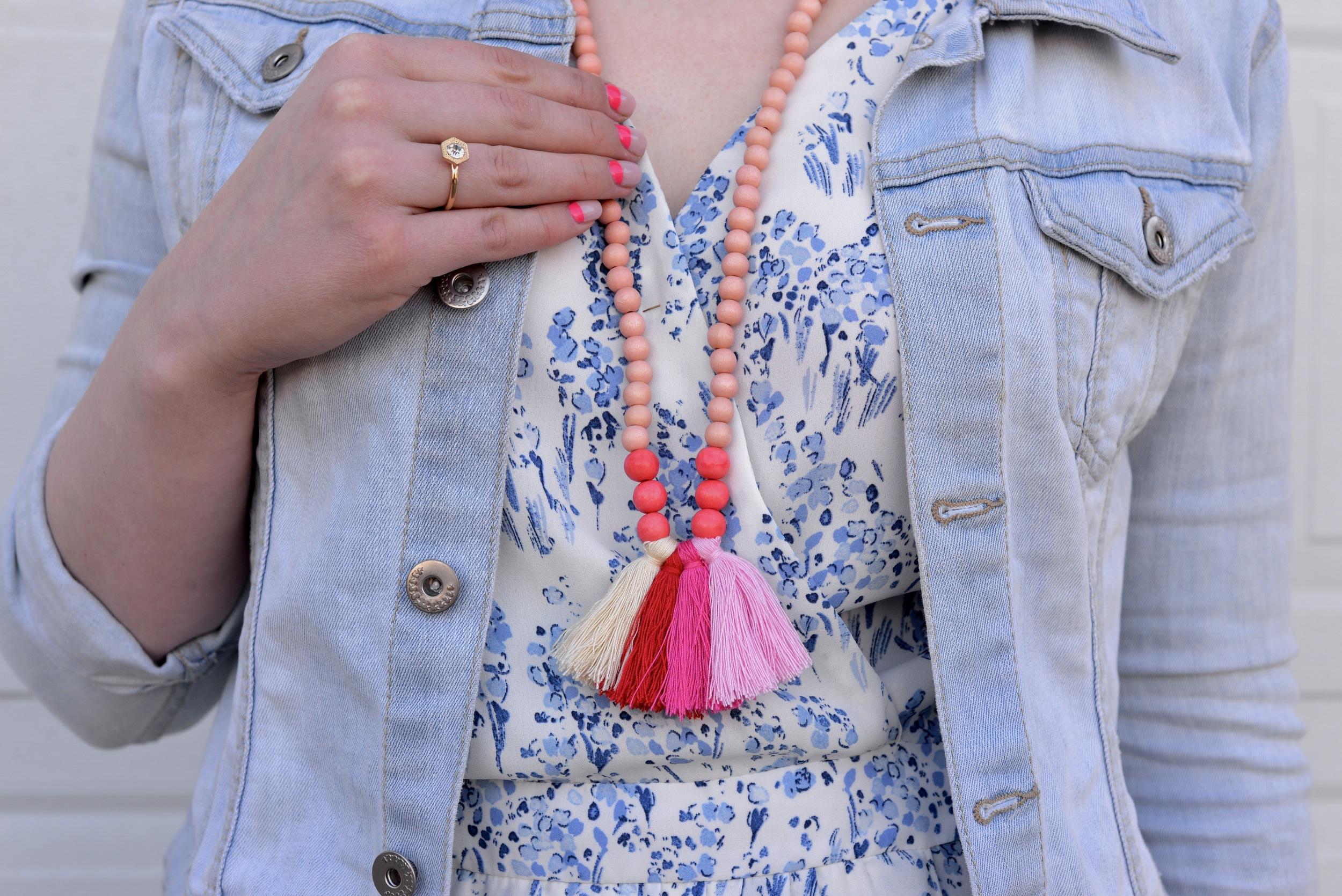 Swell Caroline Tassel Necklace