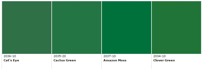 emerald green paints