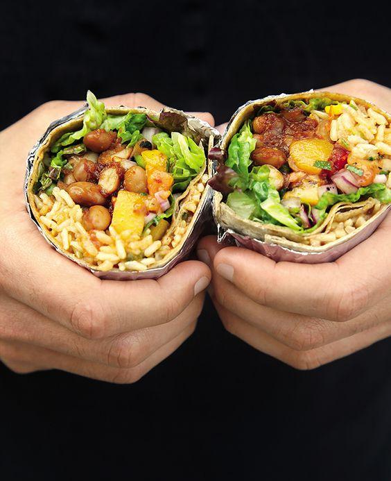 thug kitchen bbq bean burritos