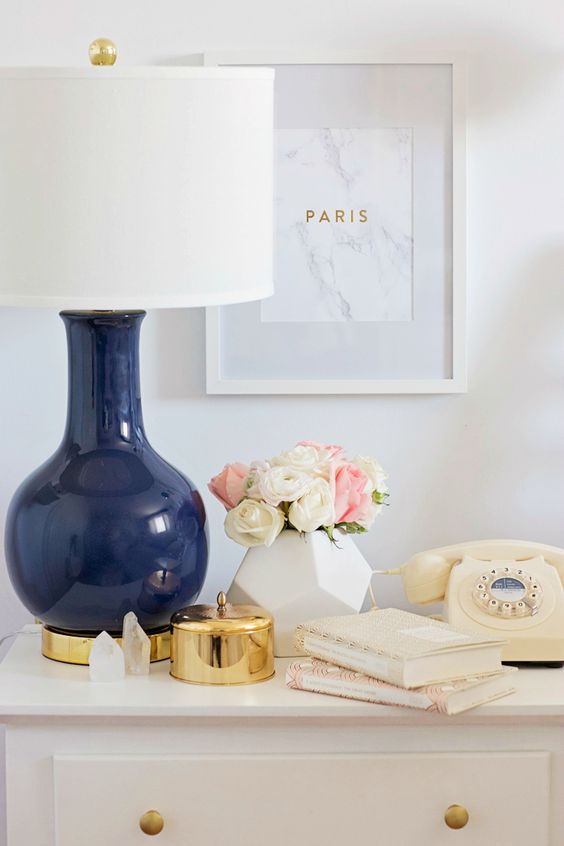 Beautiful bedside table