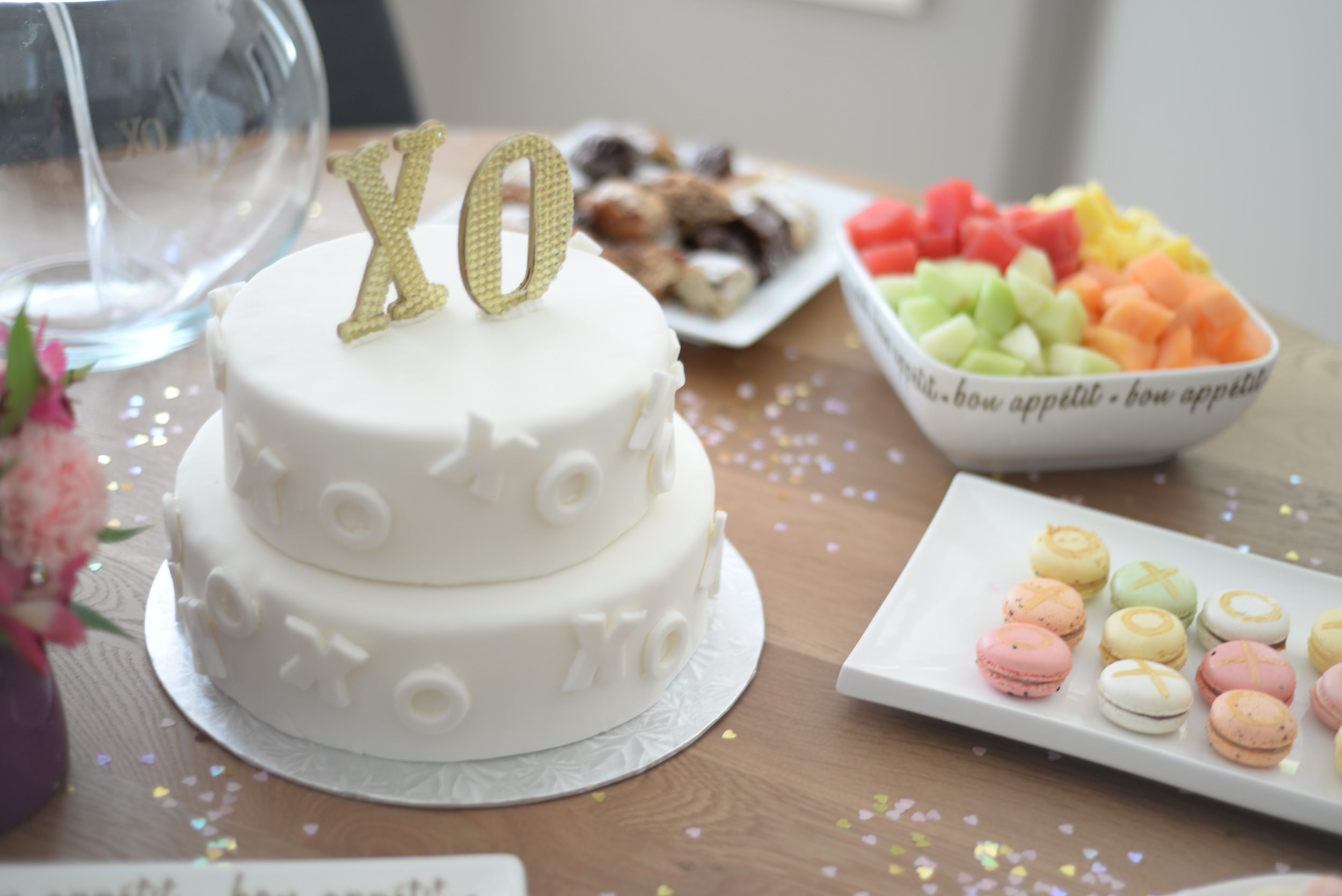 XO bridal shower