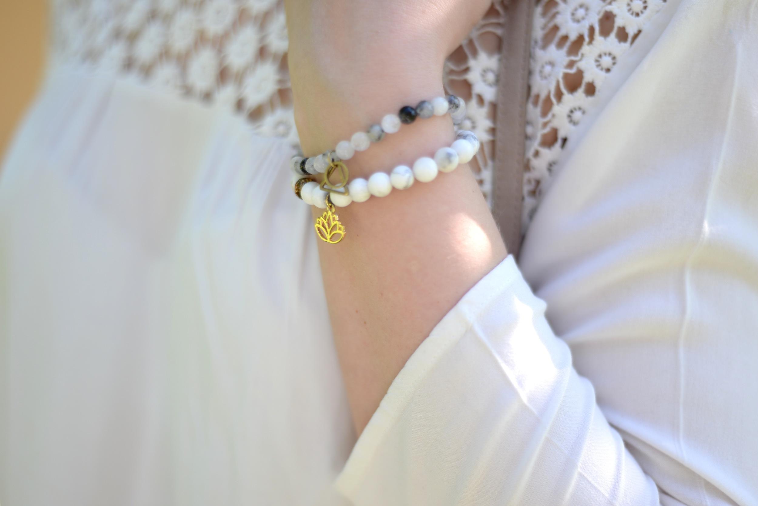 fringe and feather bracelets
