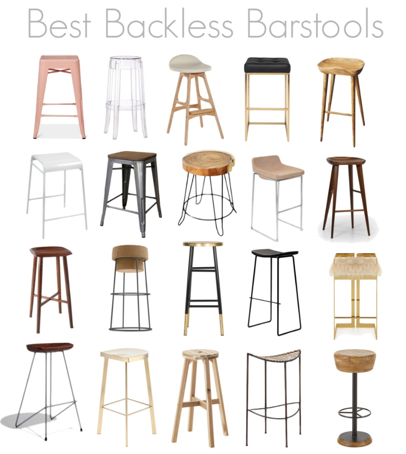 Best Backless Barstools