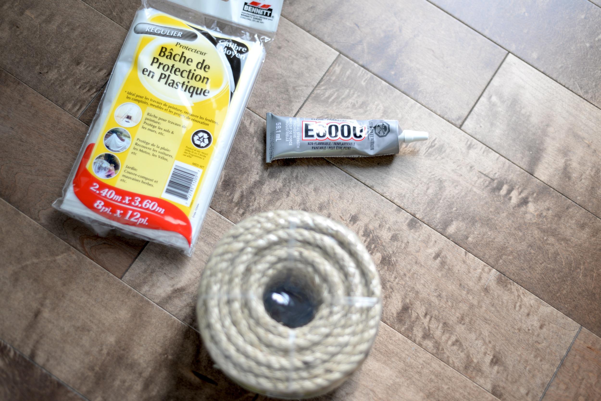 diy round rug