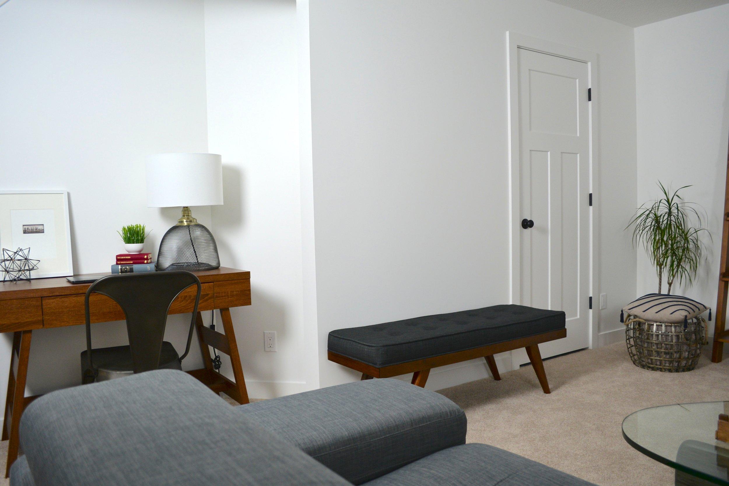 modern basement design