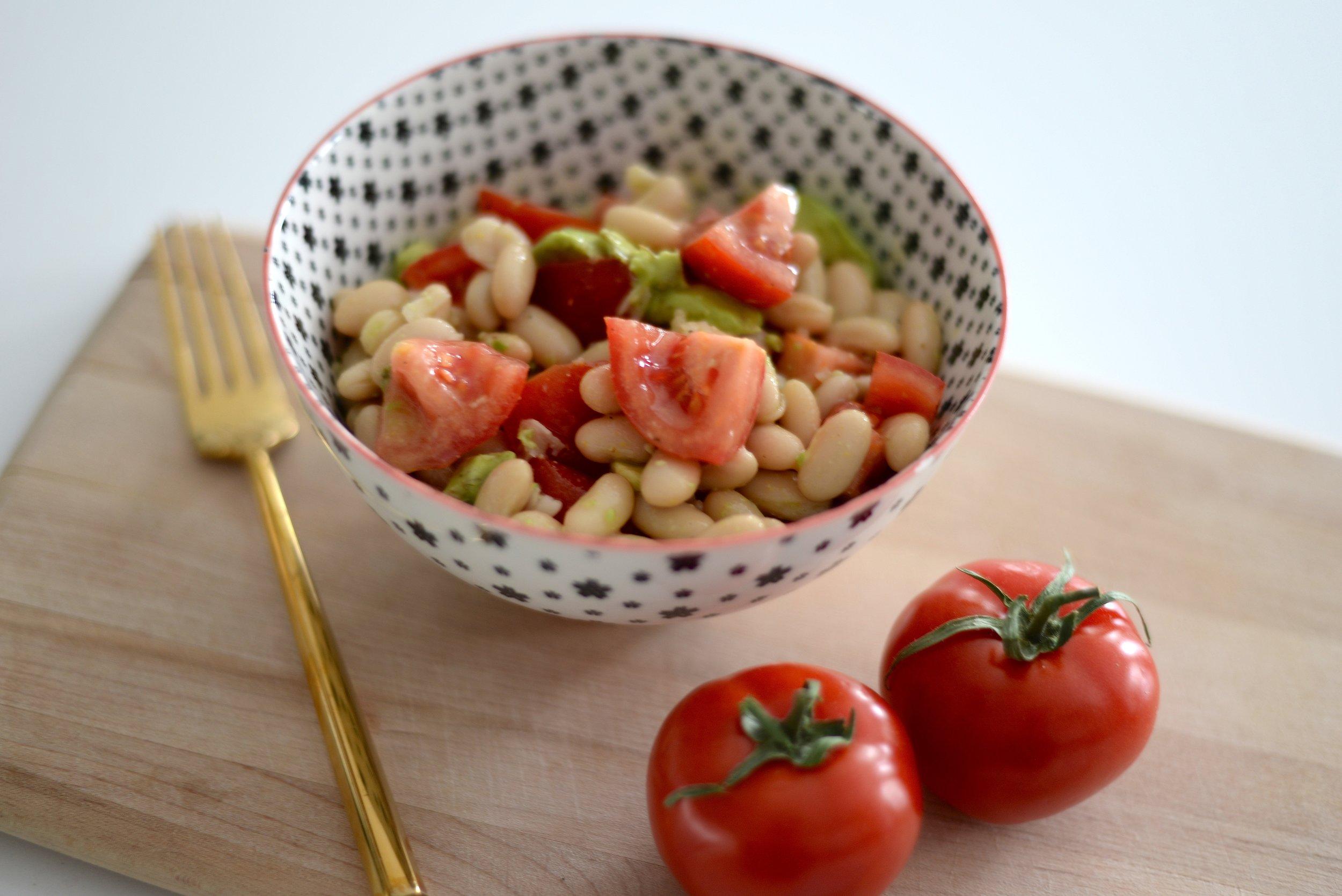 high protein salad