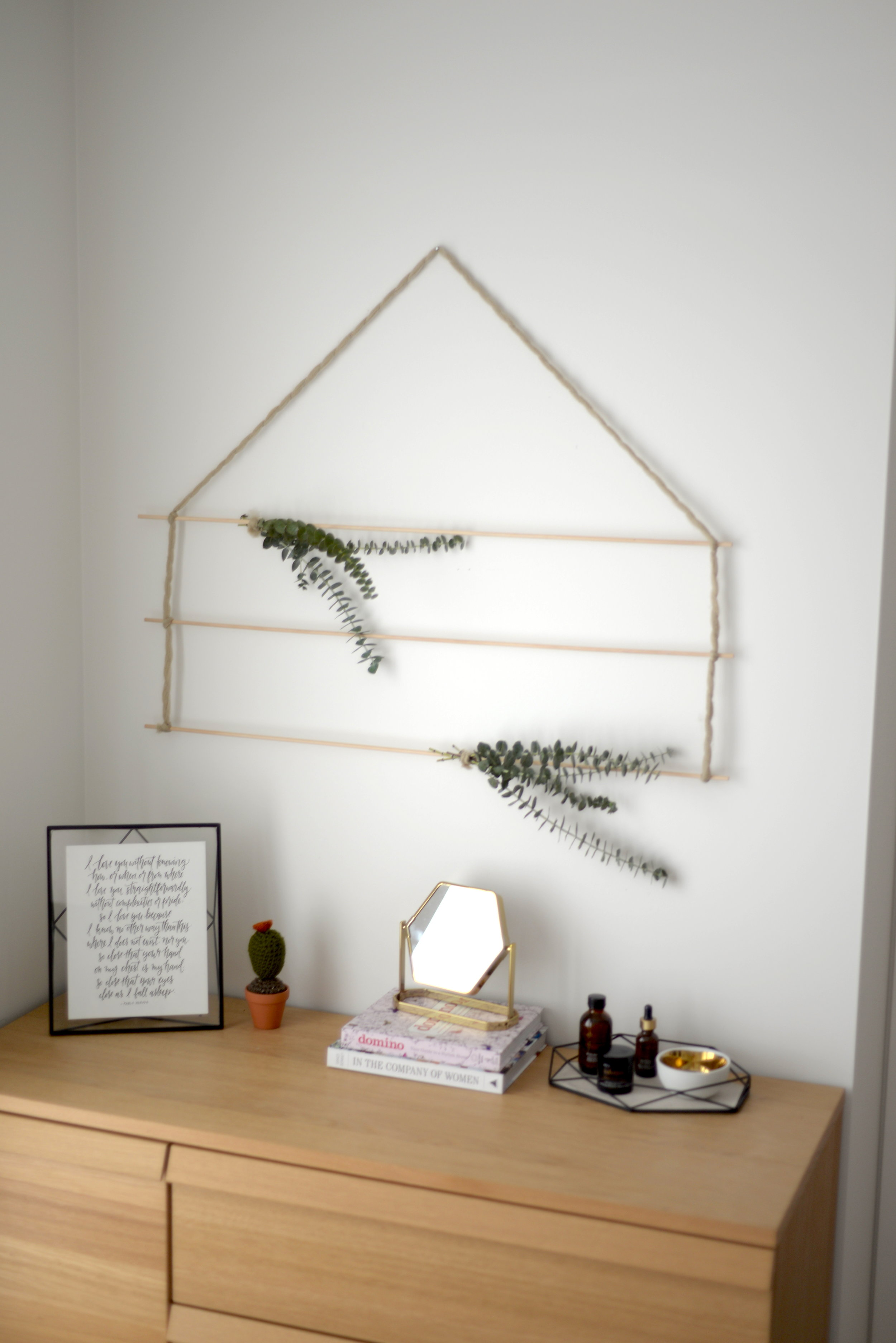wall hanging DIY
